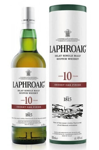 Laphroaig 10 Sherry oak finish Whisky 0,7l 48% vol.