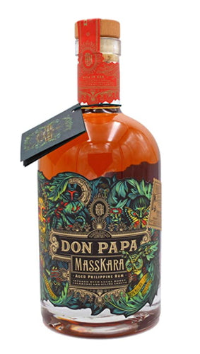 Don Papa Masskara Rum 40% vol. 0,7l Ron