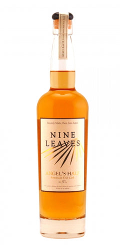 Rum Nine Leavs Angel`s Half 3y American Oak cask Japan 50%vol 0,7l Otsu Shiga