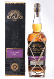 Plantation Rum Panama 2007 0,7l 46%vol. Champagne single cask Fassabfüllung Sonderedition limitiert