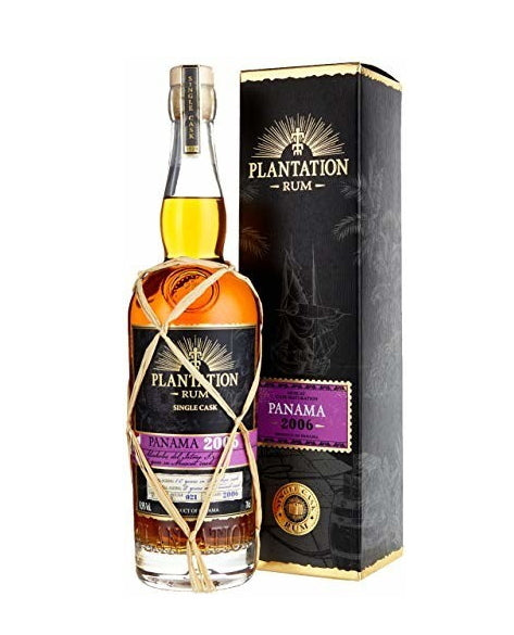 Plantation Rum Panama 2006 XO 2019 0,7l 41,9 % single cask Fassabfüllung Sonderedition limitiert