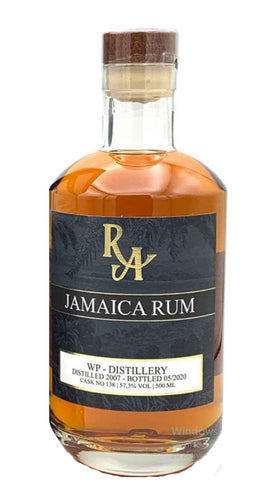 Ra Rum Artesanal single cask Jamaica 13 Jahre WP Worthy Park distillery Islay cask finish 0,5l 57,3% 2007 - 05/2020