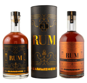 3er Set: 1x Rammstein Rum Limited Edition 2021 und 2 classisch mit Dose 0,7l 46% vol.