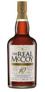 The Real McCoy 10Y limited Edition Virgin Oak single blended Rum 46%vol. 0,7l Barbados Foursquare Distillery batch 2017