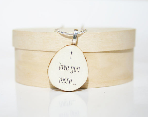 Love Pendant necklace personalized jewelry mom gift Unique gifts wood gifts art jewelry nature lover gifts circle pendant eco friendly