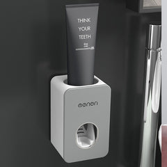 GESEW Automatic Toothpaste Dispenser Wall Mount Toothbrush