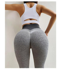 CHRLEISURE Solid Sexy Push Up Leggings Women Fitness Clothing High Waist Pants Female Workout Breathable Skinny Leggings 2 Color