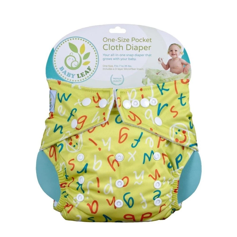 Baby Leaf One-Size Cloth Diapers - Mighty Baby PH