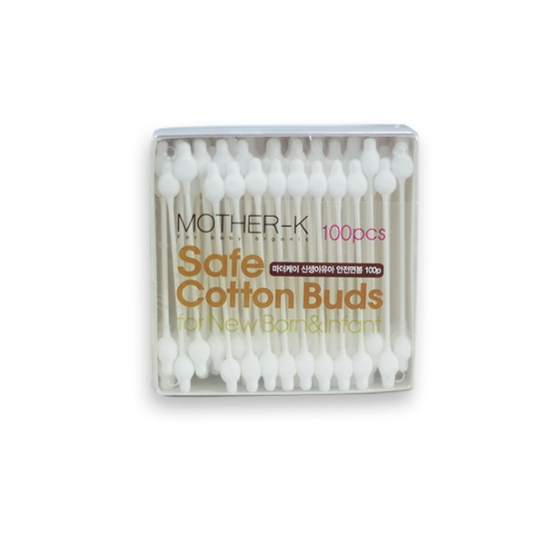Mother-K Safe Cotton Buds for Newborn and Infant - Mighty Baby PH