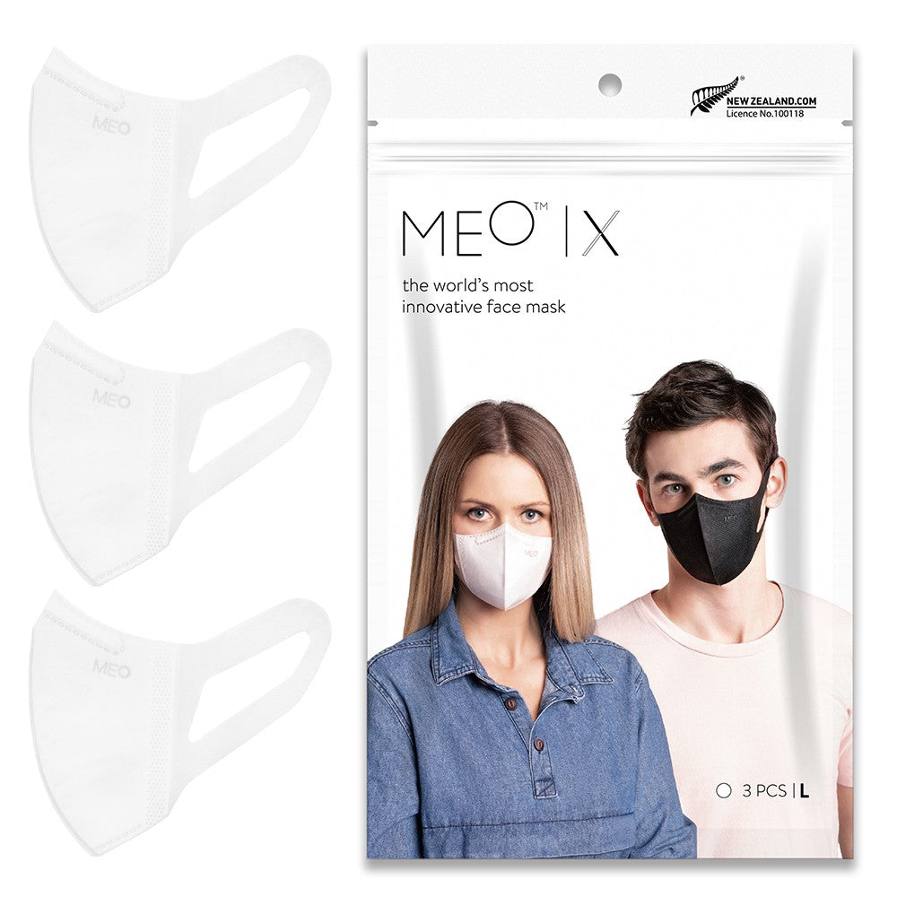 MEO X Disposable Mask (Pack of 3 Adult) - Mighty Baby PH