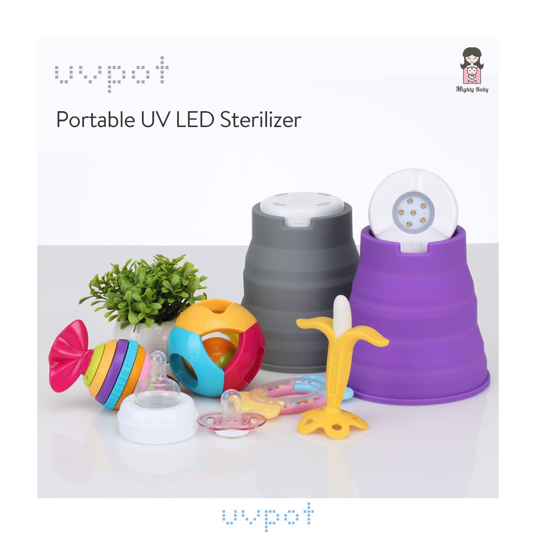 UVPOT Portable UV LED Sterilizer - Mighty Baby PH