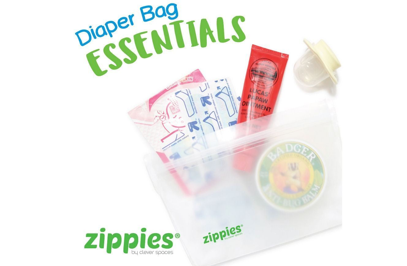 Zippies Reusable Lay Flat Bags- XL 3s - Mighty Baby PH