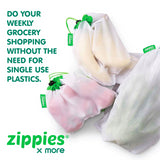 Zippies Reusable Mesh Produce Bags 5s - Mighty Baby PH