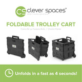 Clever Spaces Foldable Trolley - Mighty Baby PH