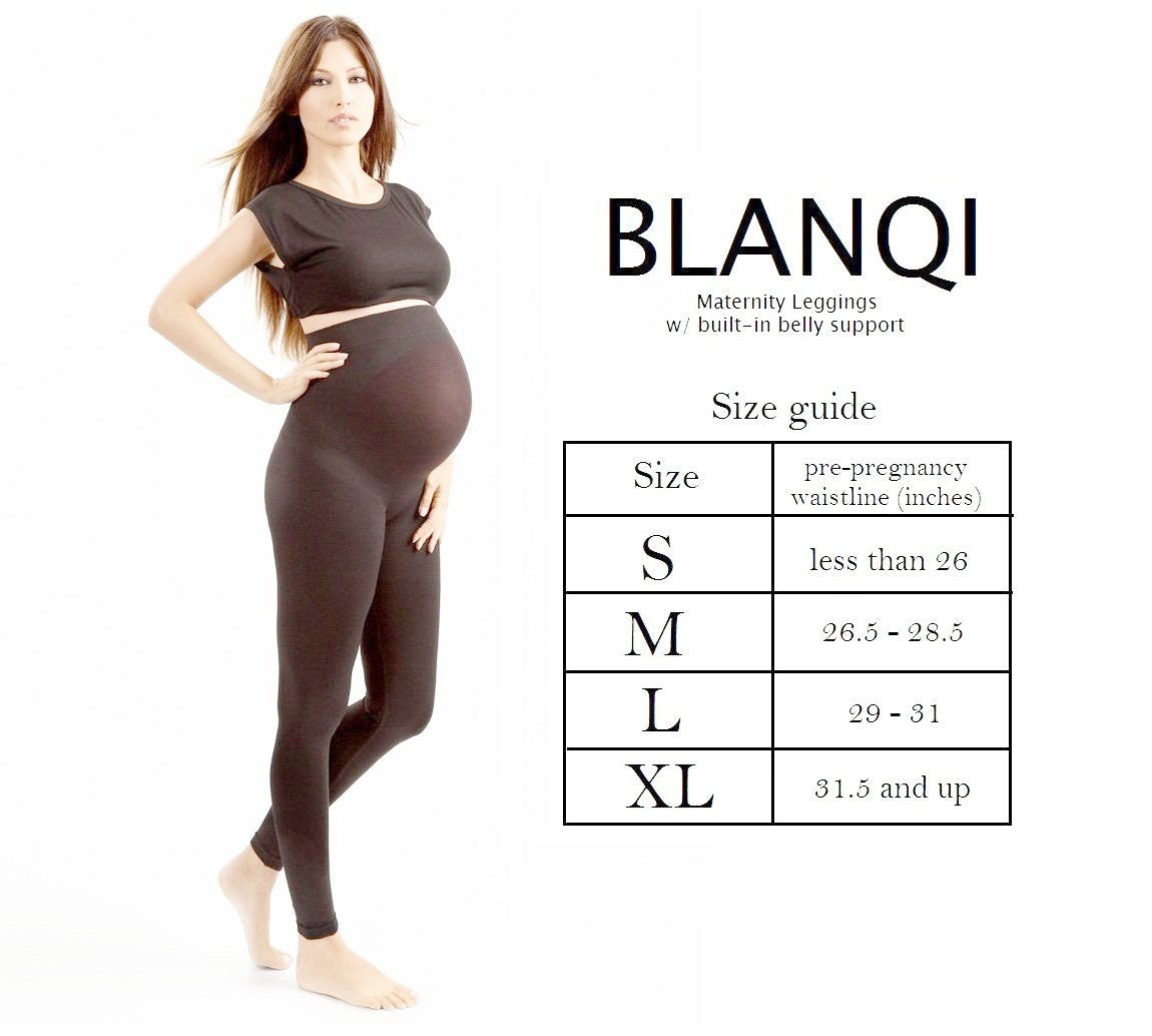 Blanqi Maternity Support Leggings - Mighty Baby PH
