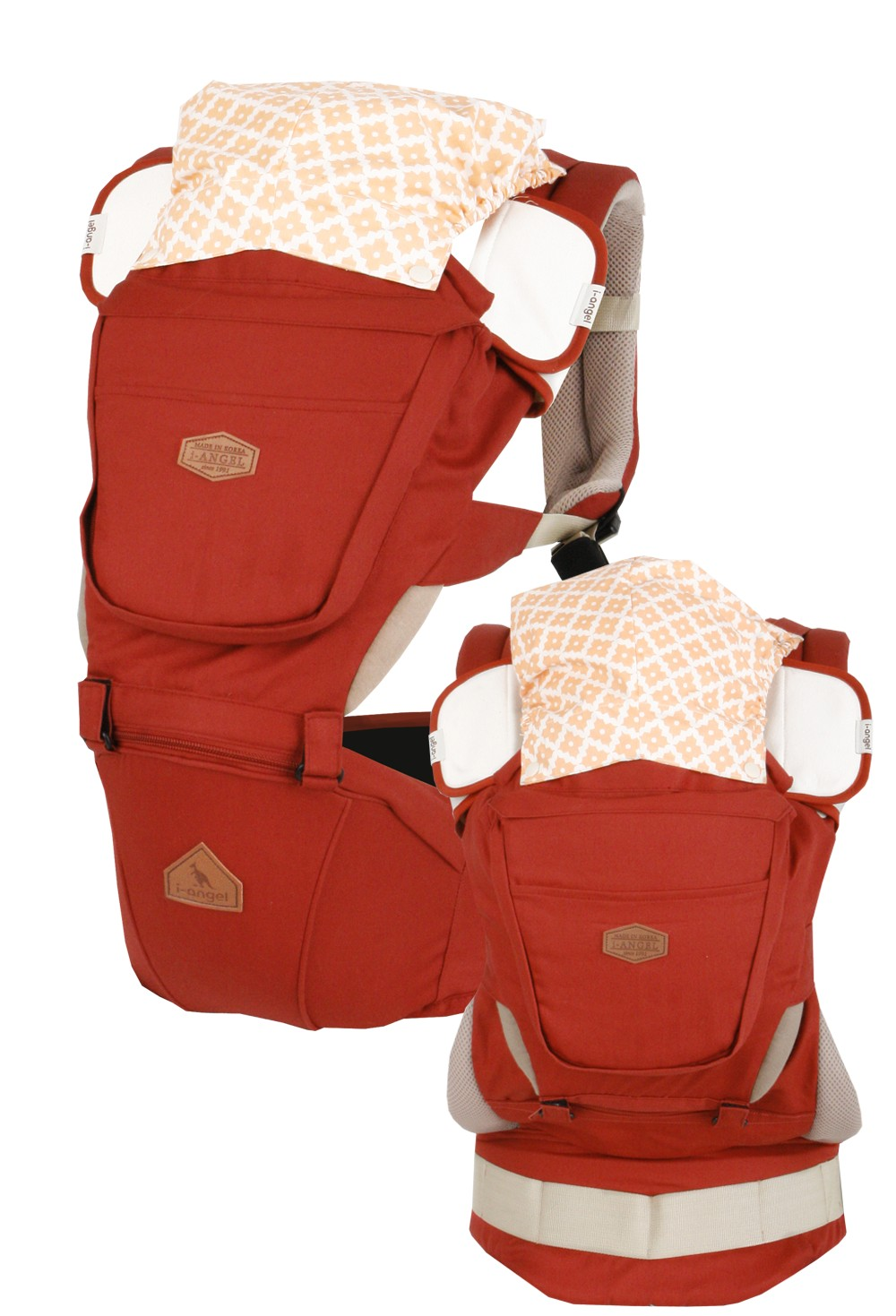 I-ANGEL HIPSEAT CARRIER - Rainbow - Mighty Baby PH