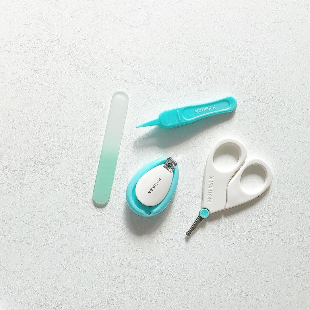 Tweezer and Nail Cair Set for Newborn - Mighty Baby PH