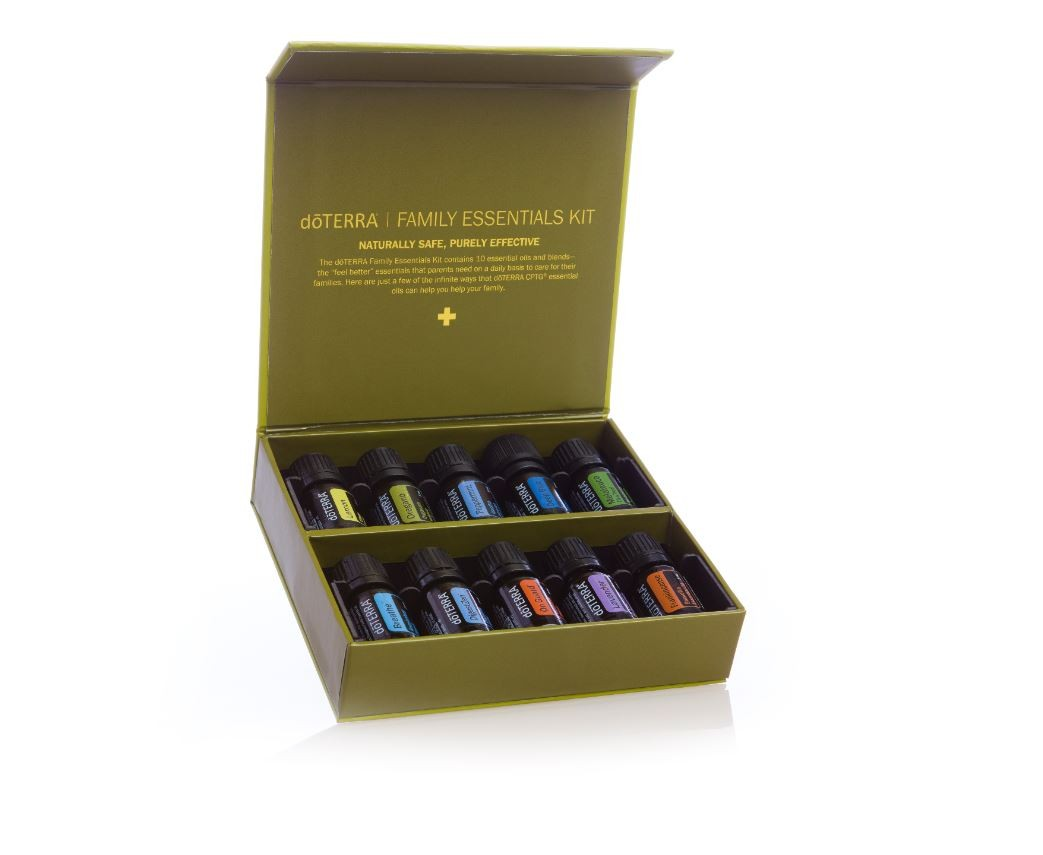doTERRA Family Essentials Kit with Fractionated Coconut Oil Package - Mighty Baby PH