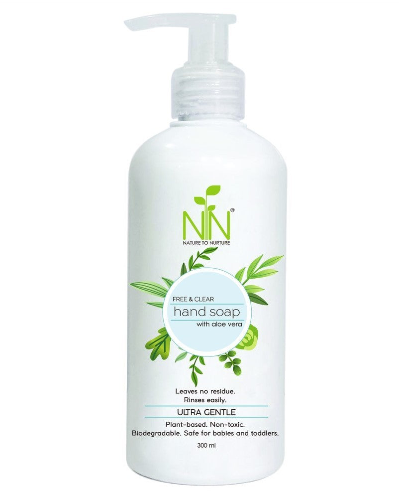Nature to Nurture Hand Soap With Aloe Vera - Mighty Baby PH