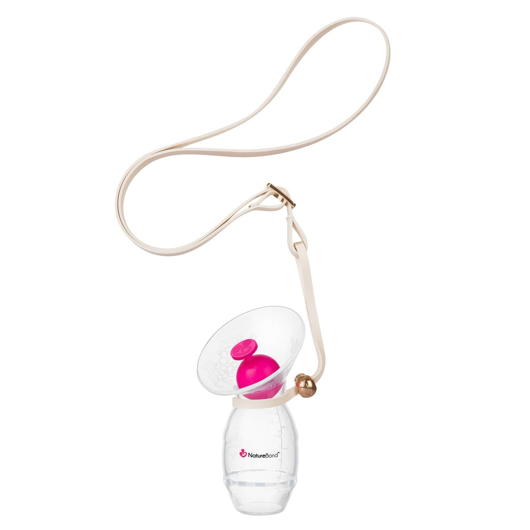 NatureBond™ Silicone Milk Catcher with Silicone Stopper and Strap - Mighty Baby PH
