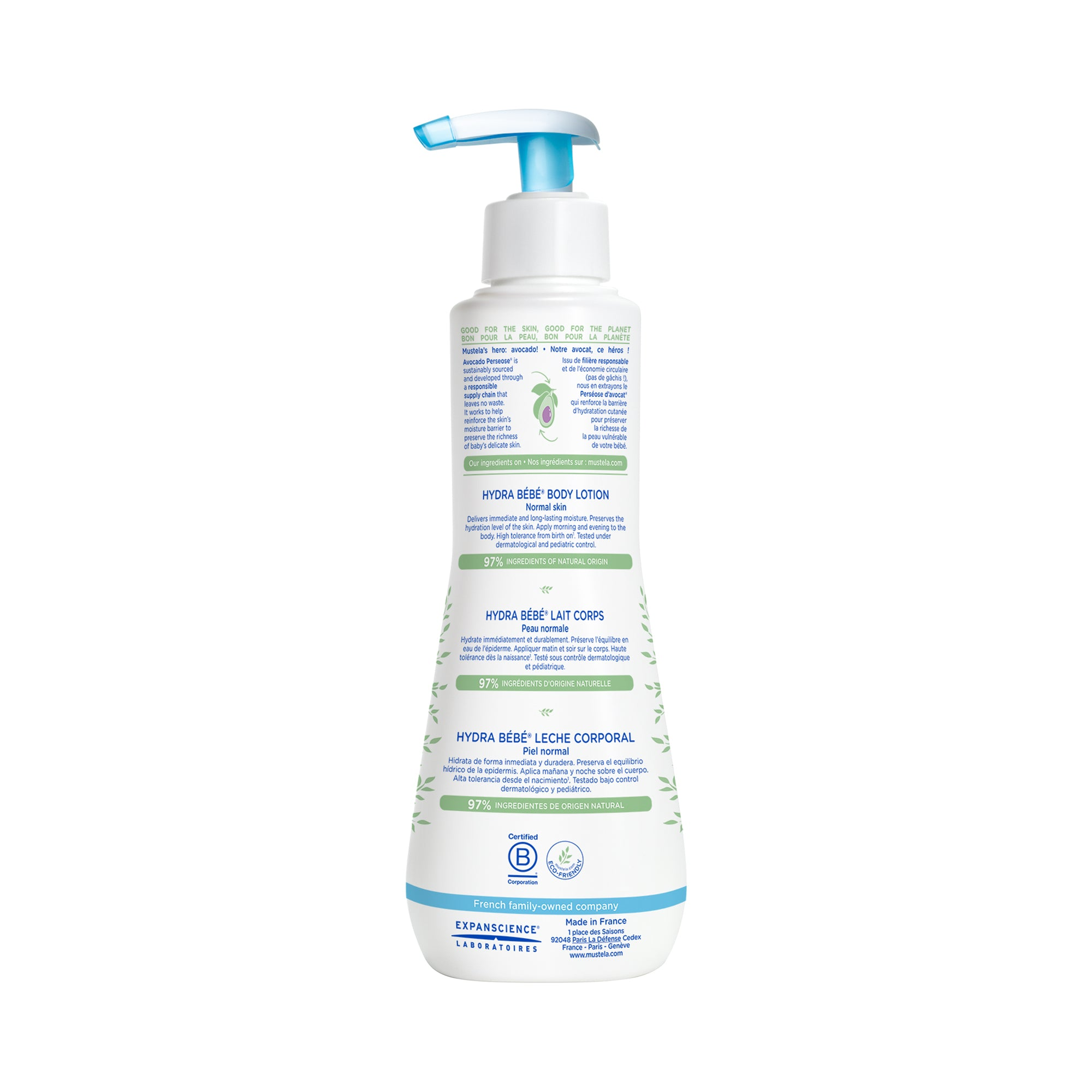 Mustela Hydrabebe Body Lotion (Normal Skin)