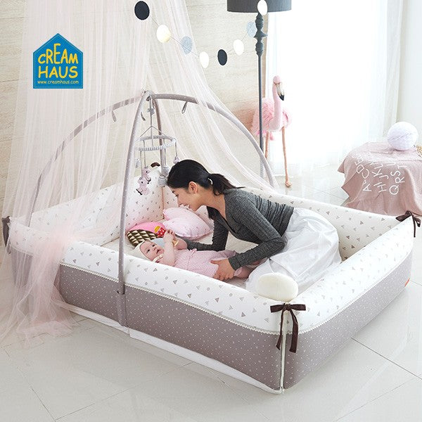 Creamhaus Inua Bumper Bed - Mighty Baby PH