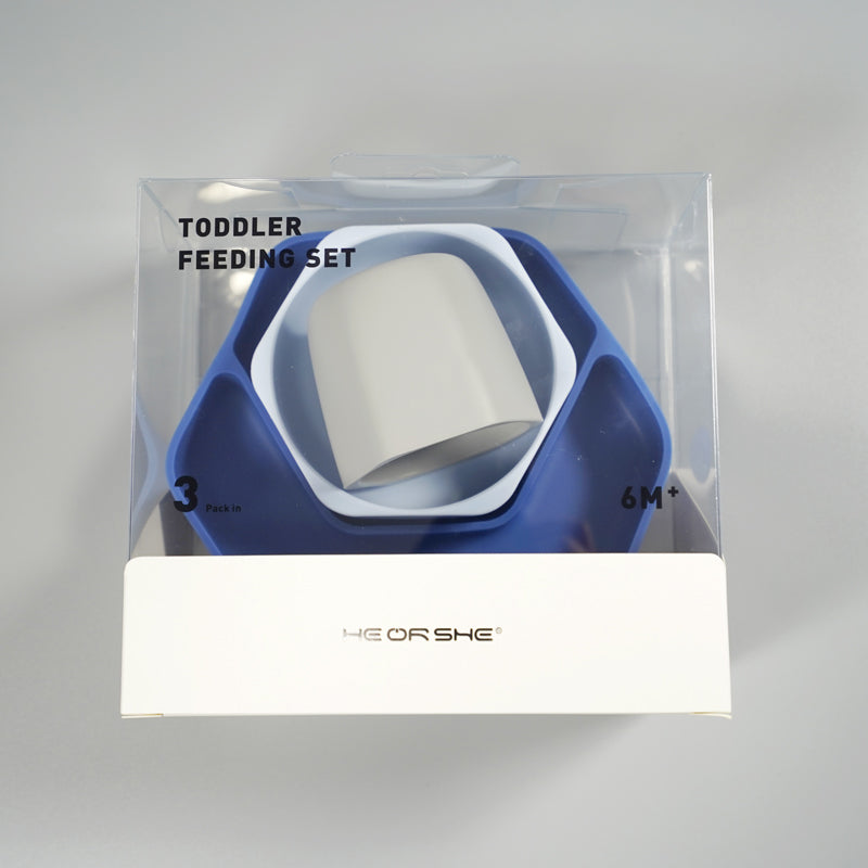 Heorshe Toddler Feeding Set