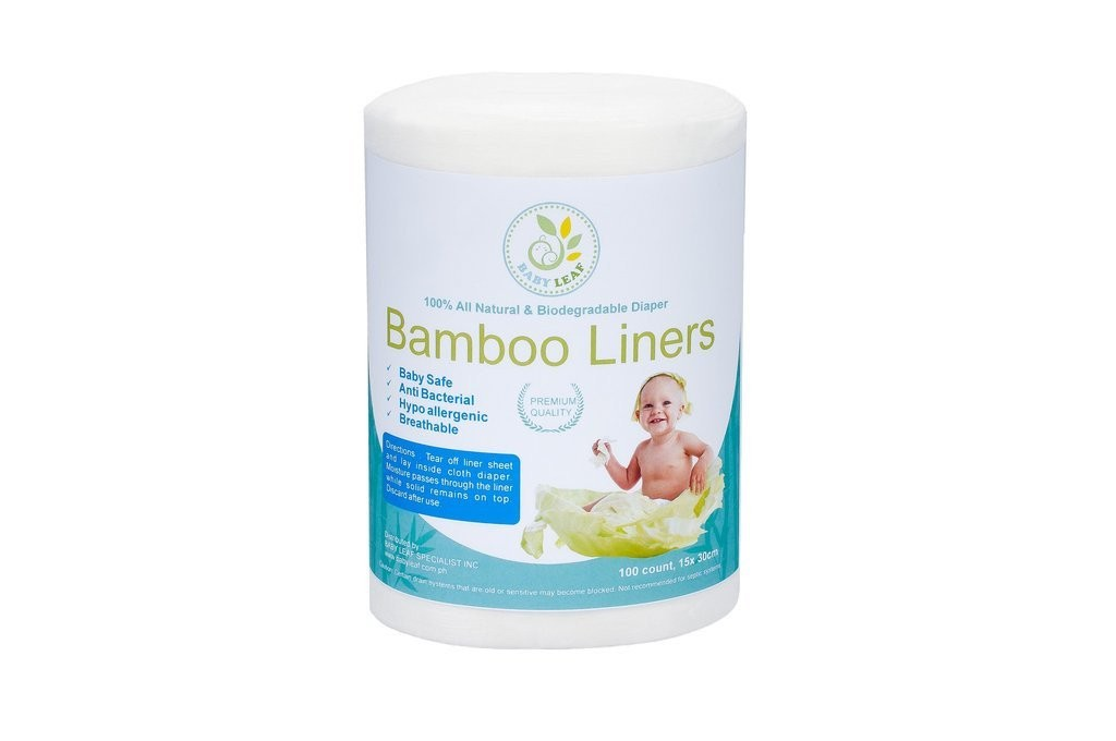 Baby Leaf Bamboo Liners - Mighty Baby PH