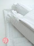"Zyji 7 PC Luxury Bedding Set for Pack and Play Cribs (26"" x 38"")"