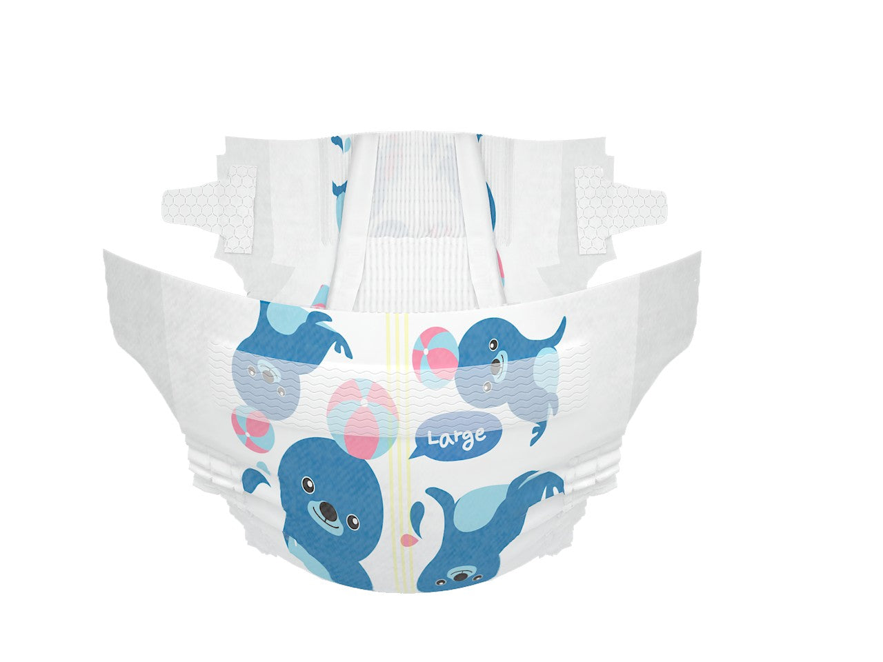 K-Mom Dual Story diaper (Large) - Mighty Baby PH