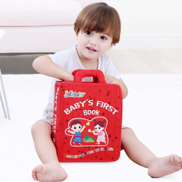 Jollybaby Montessori - Baby's First Book