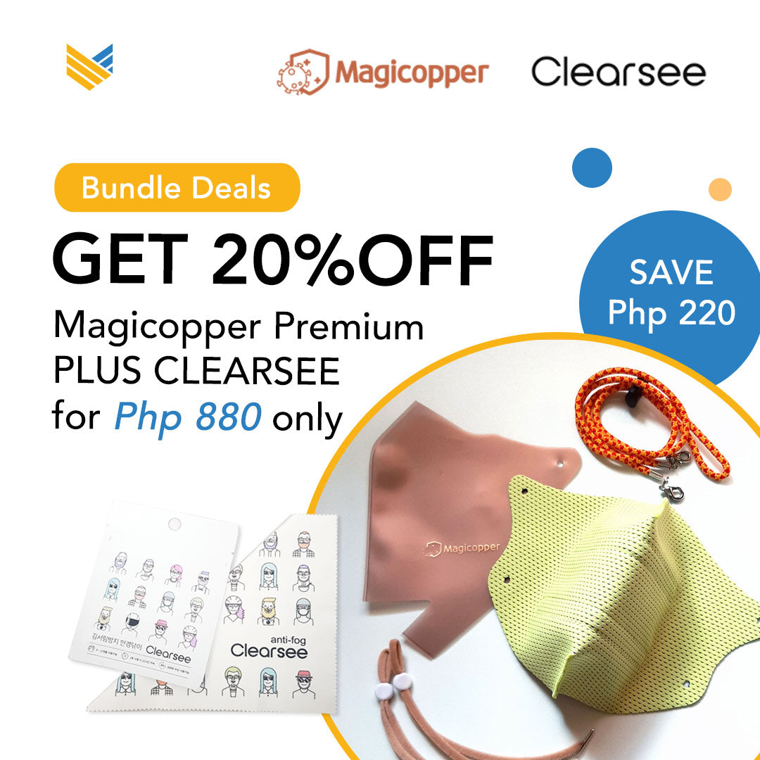 Magicopper Premium Face Mask + Clearsee Bundle