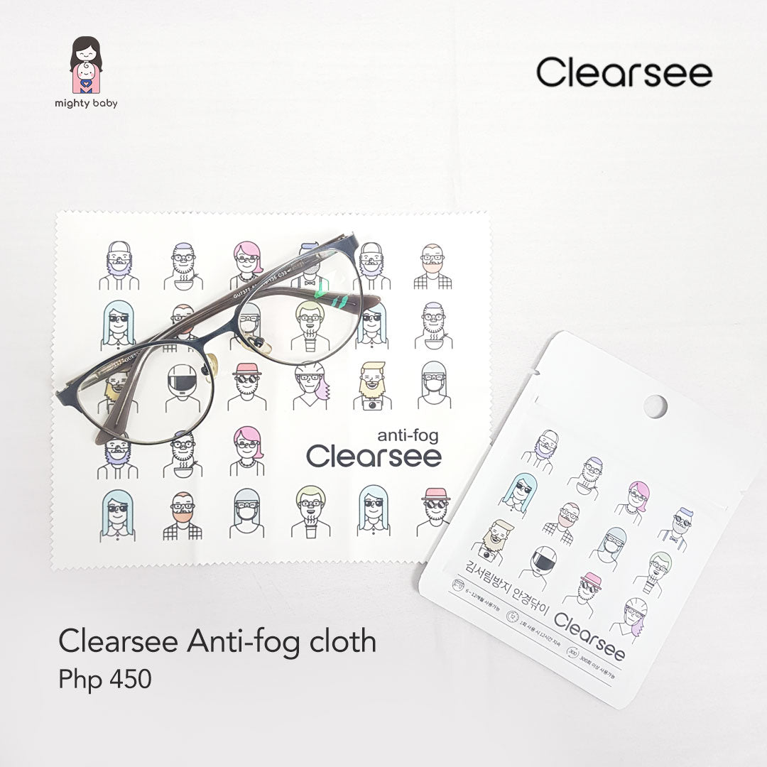 Clearsee Anti-Fog Cloth - Bundle of 3