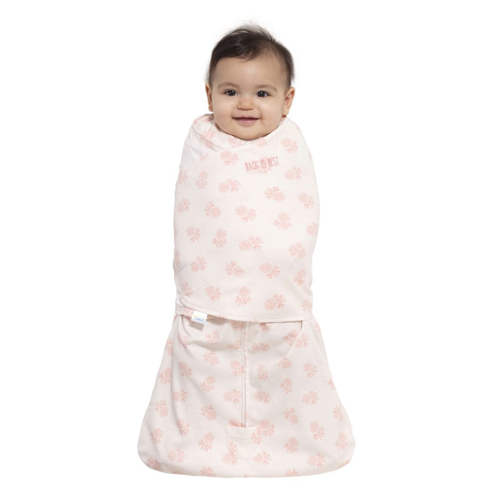 Halo Sleepsack Swaddle – Watercolor Rose