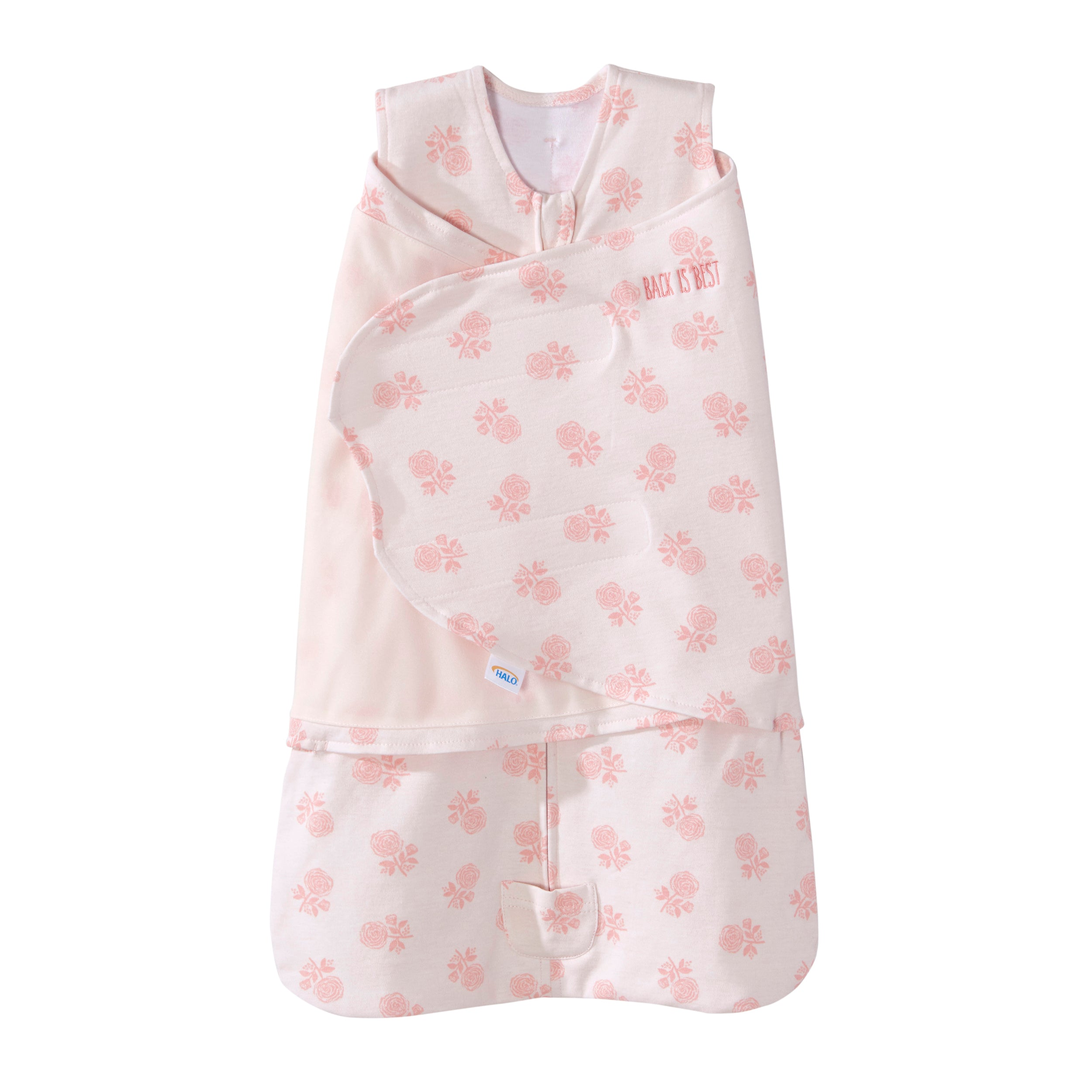 Halo Sleepsack Swaddle – Pink X's And O's
