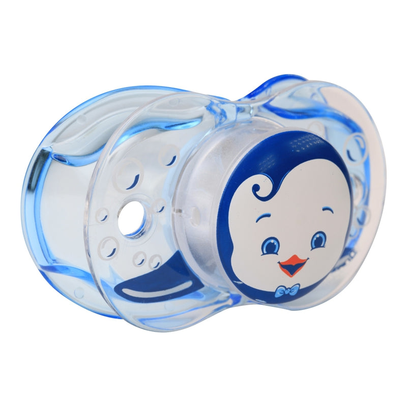 RaZBaby Keep-It-Klean Pacifier – Ethan Penguin