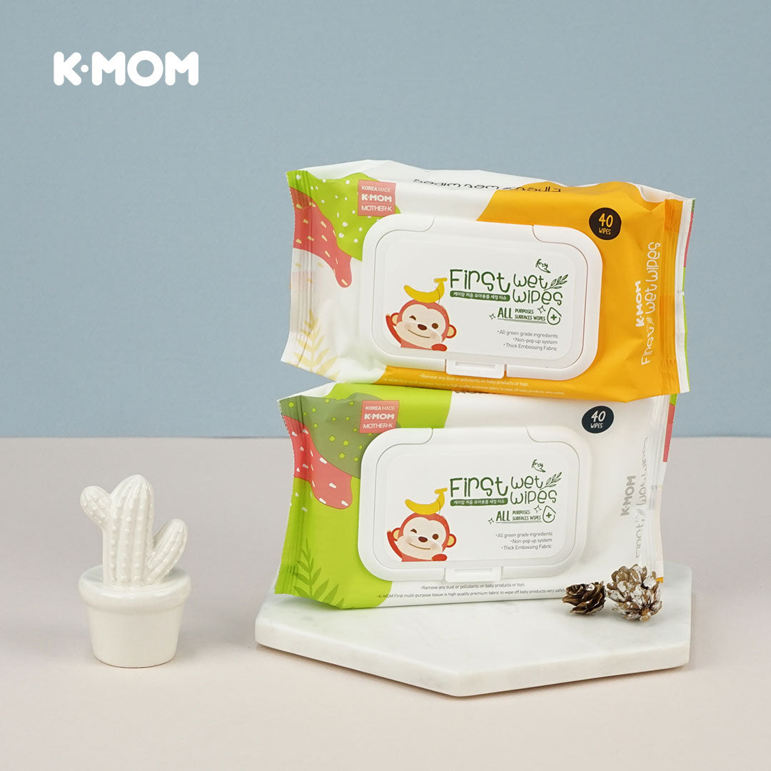 K-Mom All Purpose Wipes