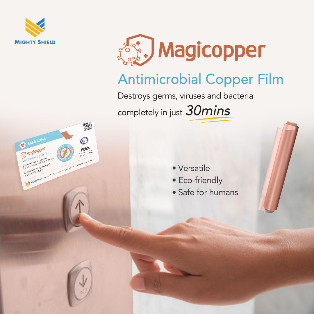 Magicopper Antimicrobial Copper Film 10m (Non Sticky Type)