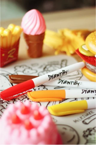 DrawnBy Marker Set (14 Colors)