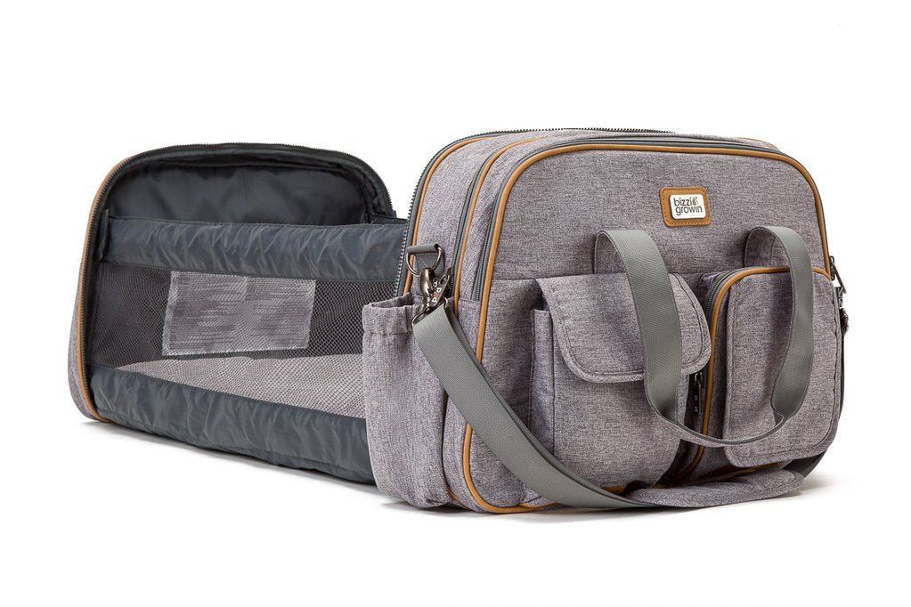 Bizzi Growin POD Baby Travel Bag and Cot