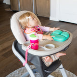 Booginhead SippiGrip for Cup, Bottle, & Toy Teether - Dottie