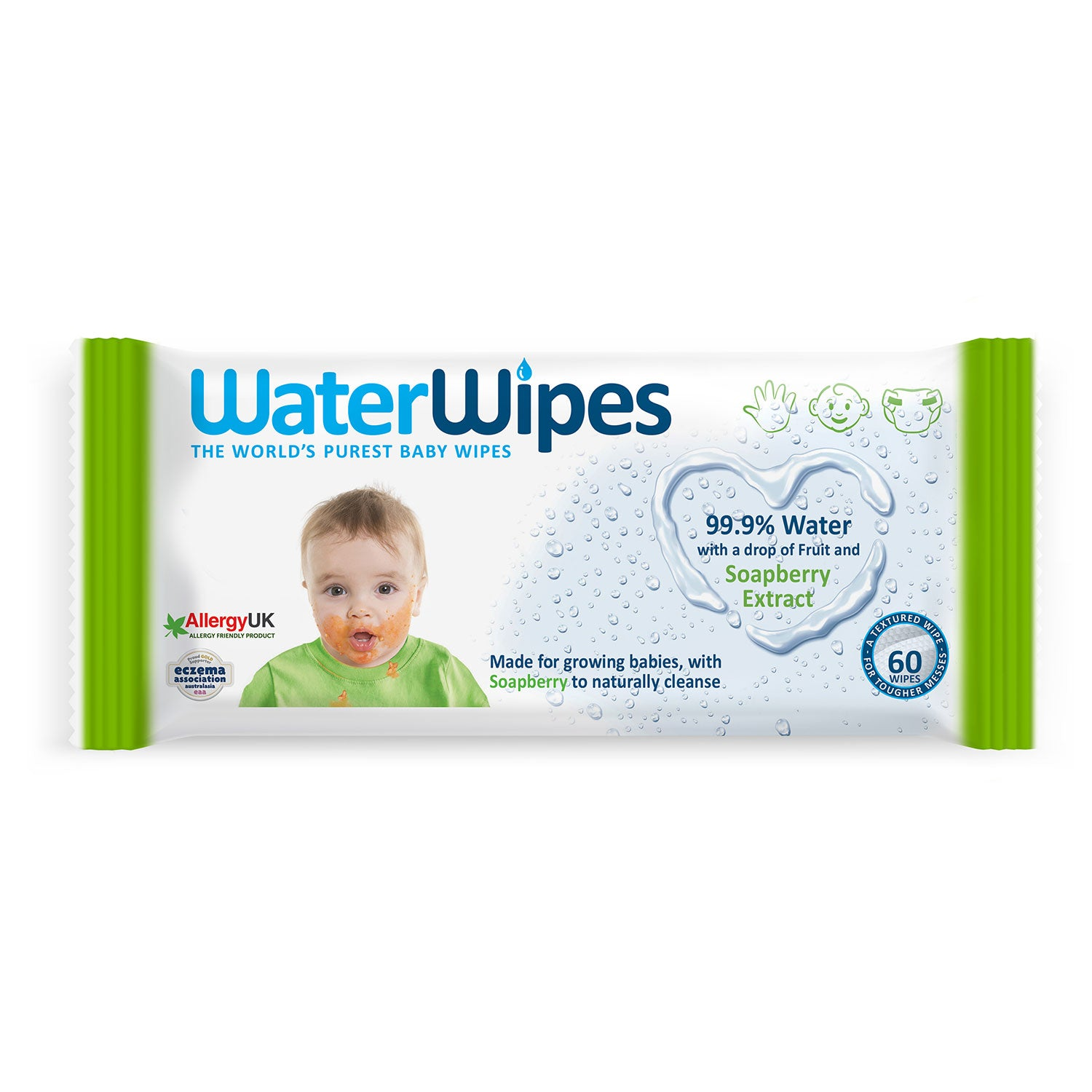 WaterWipes Soapberry 60pk