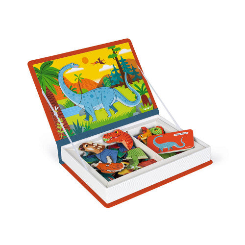 Janod DInosaurs Magneti'book