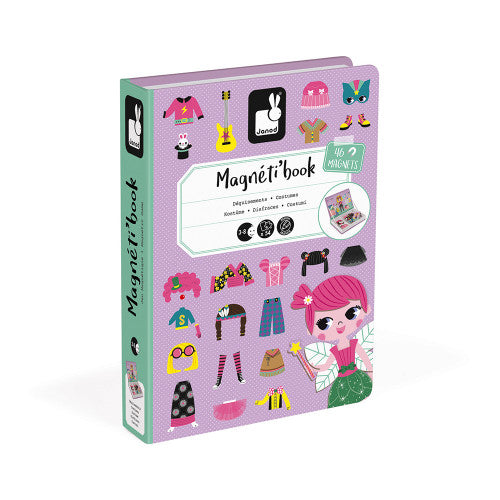 Janod Girl's Costumes Magneti'book