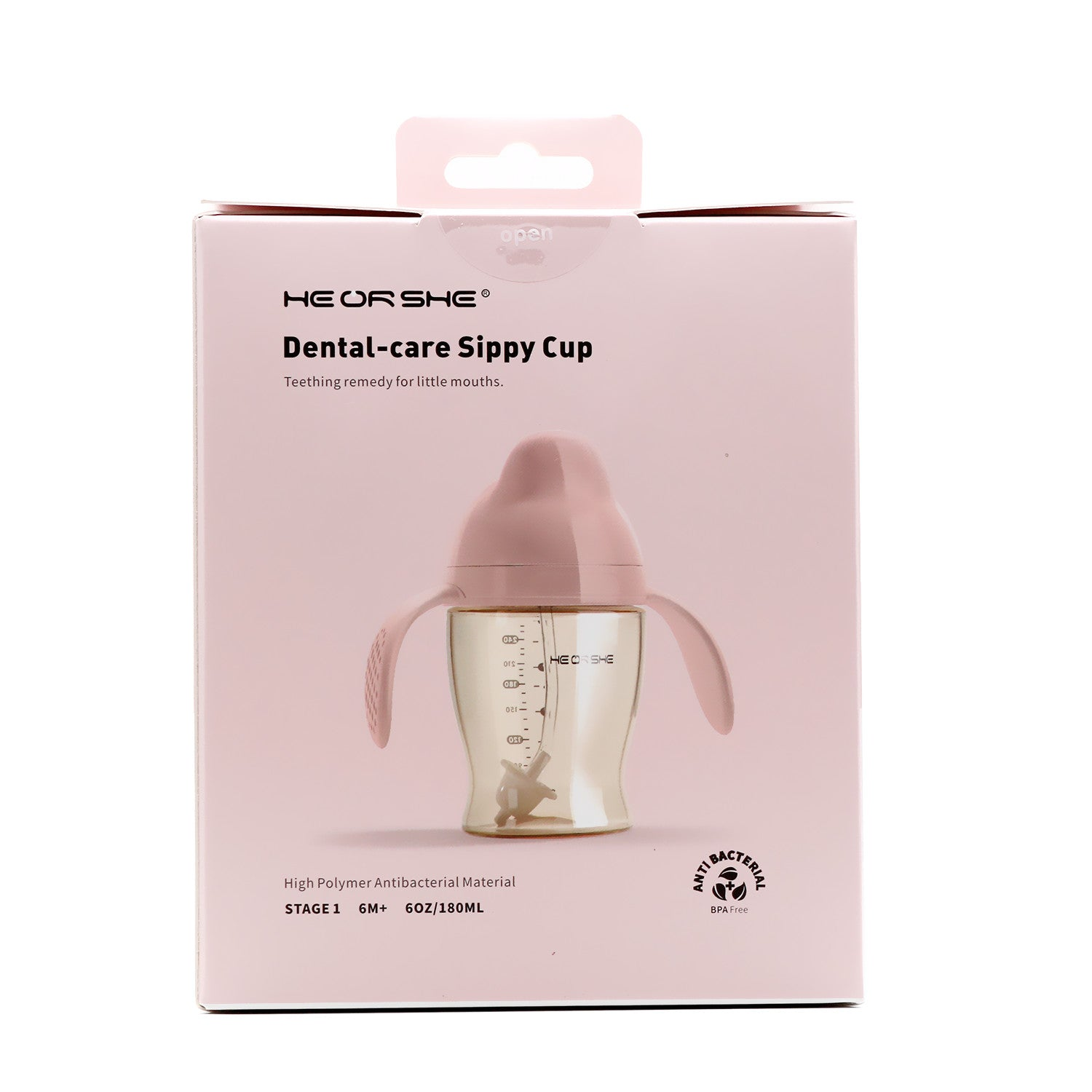 Heorshe Dental-Care Sippy Cup Stage 1 (6 months+)
