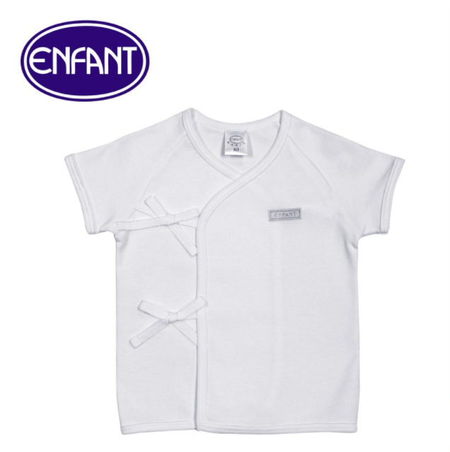 Enfant Shirt Tie Side Short Sleeves