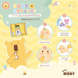 Baby Moby Dry Wipes 30s