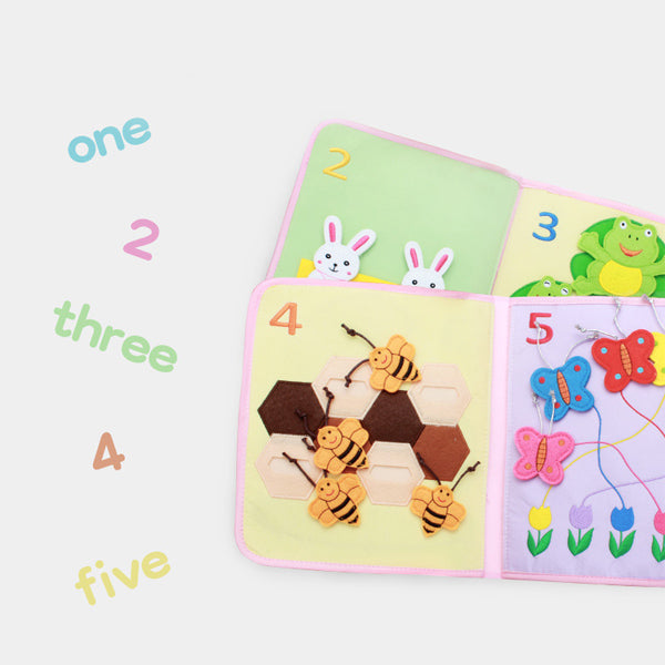 Jollybaby Montesorri - Baby's First Book (Counting and Numbers)