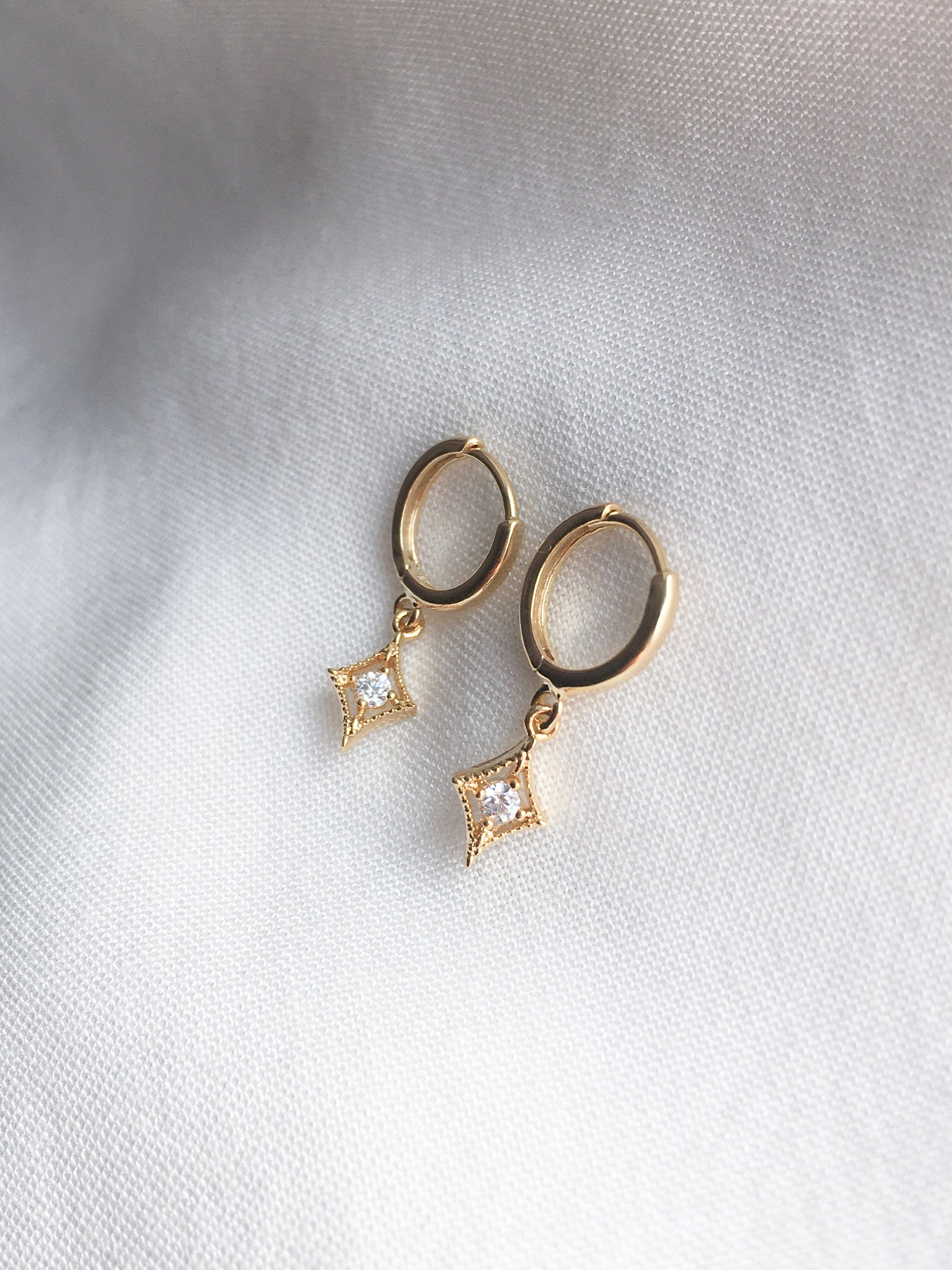Diamanté Diamond Earrings
