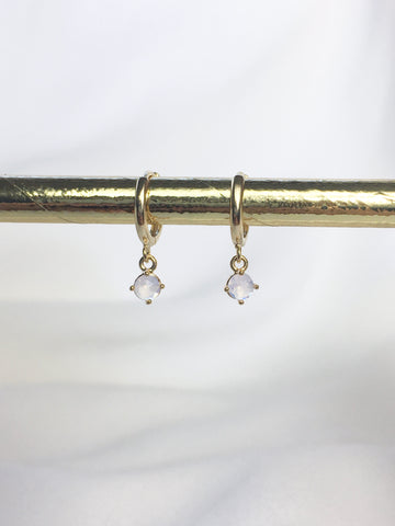 Dainty Gem Earrings